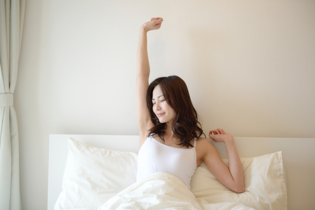 目覚めの良い朝