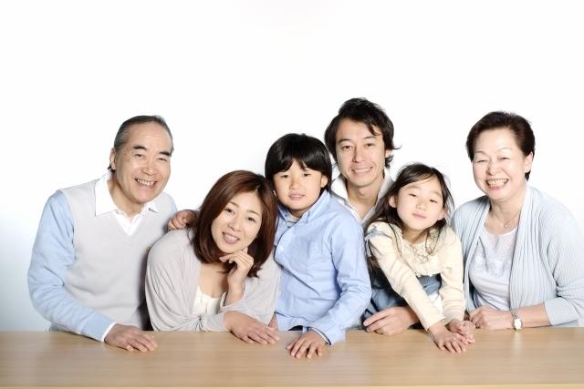 家族が集合