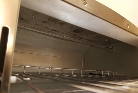 我が家のアラジンのトースターの上側
