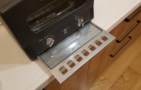 我が家のアラジンのトースター