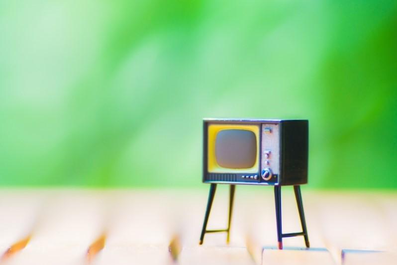 古いテレビのおもちゃ