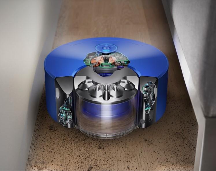 ダイソンのロボット掃除機Heuristの360°ビジョンシステムについて