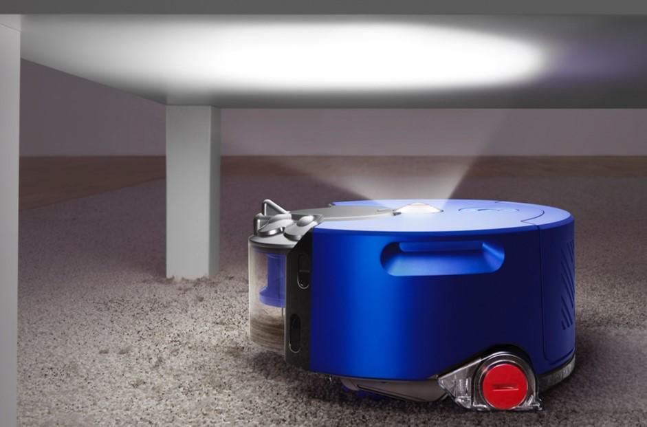 ダイソンのロボット掃除機Heuristのライト機能について