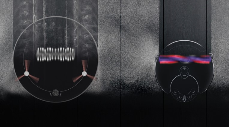 ダイソンのロボット掃除機Heuristの吸引口の広さについて