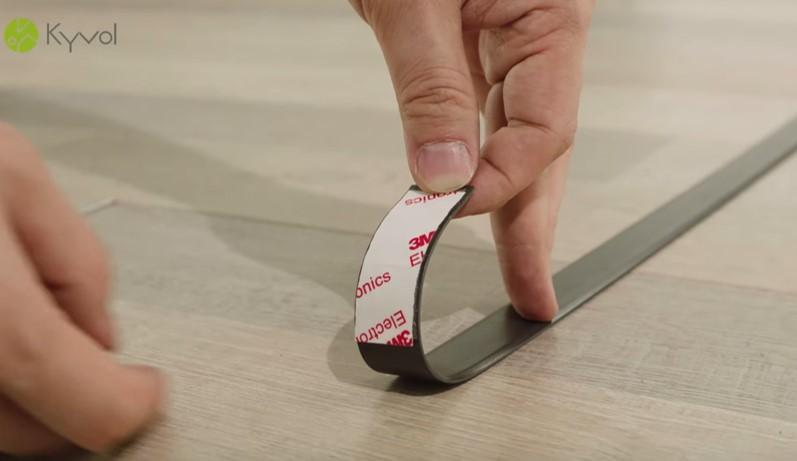 Kyvol Cybovac E30の境界線テープについて