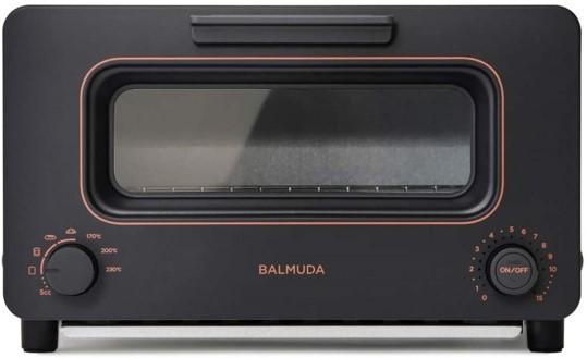 バルミューダトースター2020年最新型K05A-BKの外観