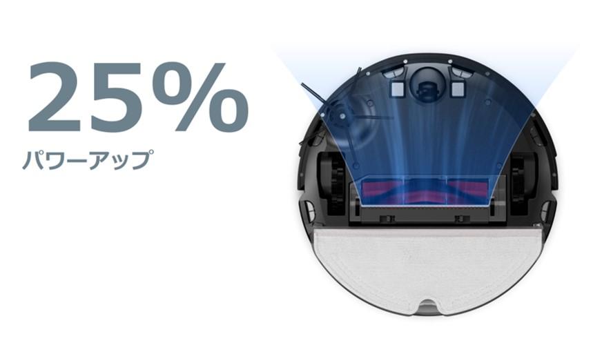 Roborock S6 MaxVの吸引力について