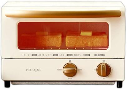 アイリスオーヤマのトースター「リコパ」の外観