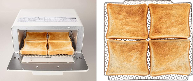 パナソニックのトースター新製品「NT-T501」の4枚焼きについて