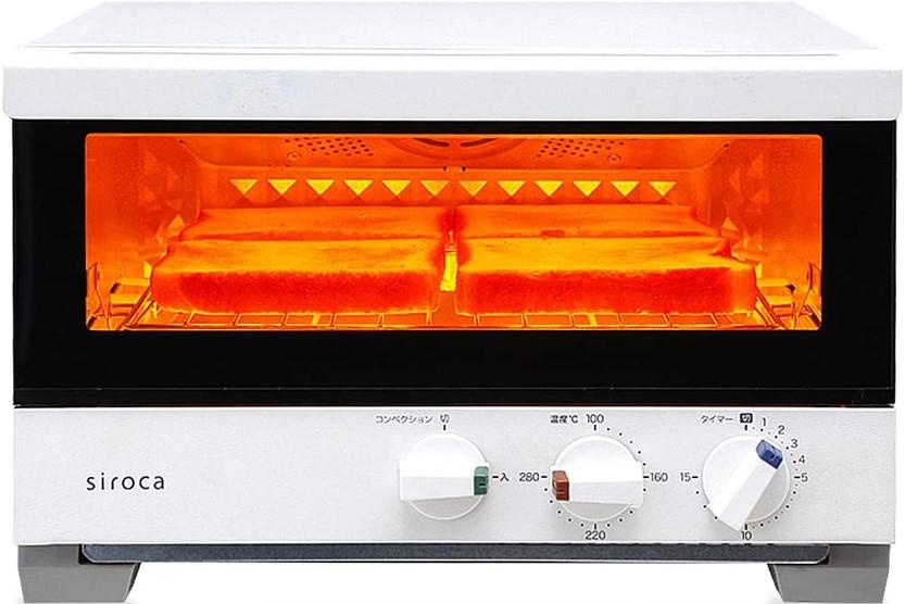 シロカプレミアムオーブントースター すばやき ST-4A251